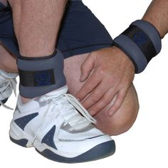 Fitness-Mad wrist and ankle weights feature a unique double fastening system to ensure a snug, friction free fit. There are no buckles to stick in to you and the weight is evenly distributed for maximum comfort. The weights attach easily over wrist or ankle to increase the intensity of your workout routine.  2 x 0.5Kg Colour: Grey with black piping also  2 x 1Kg Colour: Grey with black piping One size fits all.