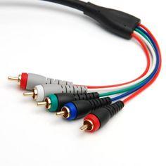 Audio//Video AV 3.5mm to 3-RCA 6ft Composite Cable for Sony Mavica Camera CD200