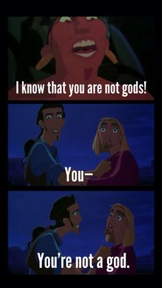 The Road to El Dorado. This one makes me laugh every time.