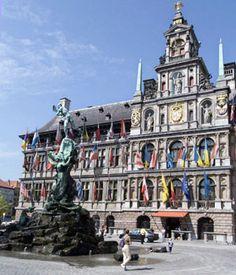 city hall in brussels, belgium. :)