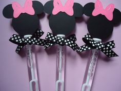 Minnie Mouse party favors Minnie Mouse bubble by SassyCreationz