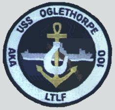 USS Oglethorpe (AKA-100) was an Andromeda-class attack cargo ship, patch.