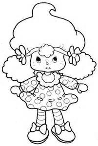 Strawberry Shortcake Cartoon Coloring Pages - Bing Images