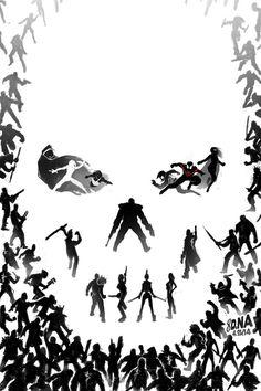 All-New Ultimates #5 Cover by David Nakayama