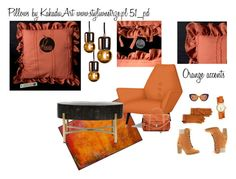 Styling Idea by kakaduart on Polyvore featuring interior, interiors, interior design, dom, home decor, interior decorating, Timberland, Proenza Schouler, Tory Burch and UGG, pillows by KakaduArt