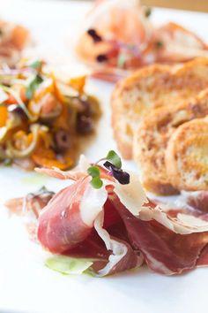 Prosciutto Tasting: Olive Tomato Vinaigrette, House-Made Crostini ...