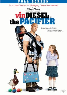 One of my favorite movies starring #VinDiesel. Check out my The Pacifier review here. http://www.squidoo.com/a-moms-review-of-the-pacifier-starring-vin-diesel