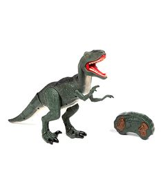 Another great find on #zulily! Dino World Remote Control Velociraptor Toy by World Tech Toys #zulilyfinds