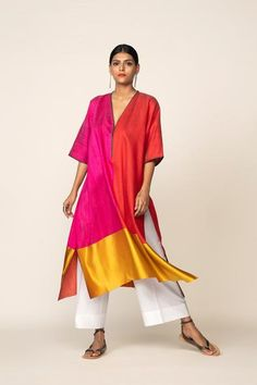 Casual Dresses, Casual Outfits, Dresses For Work, Kaftan Designs, Ethinic Wear, Saree Blouse Patterns, Western Dresses, Casual Chic Style, Indian Designer Wear