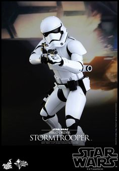 Hot Toys Reveals Star Wars: The Force Awakens First Order Stormtroopers - Cosmic Book News