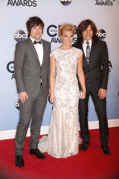 The Band Perry look so good together! See MORE red carpet looks here>> http://my.gactv.com/cma-awards/gallery.esi?sortOrder=2