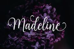 Madeline Script (40%Off) by Unicode on @creativemarket