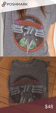 Van Halen Chaser Tee Great condition.  Soft & cozy.  The length makes it perfect with leggings but also great with jeans or leather pants!! Chaser Tops Tees - Short Sleeve