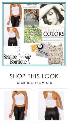 """""""Seaside Boutique 7"""" by damira-dlxv ❤ liked on Polyvore featuring moda"""