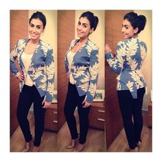 """Our gorgeous client in our """"The Retreat"""" @sassandbide jacket! What a beauty <3"""
