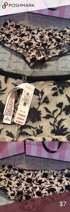 Brand New Victoria's Secret Panty Brand New Victoria's Secret Panty with tags. Size medium shortie.  Buy 2 $7.00 items and receive 10%off and shipping discount.Smoke free environment Victoria's Secret Intimates & Sleepwear Panties