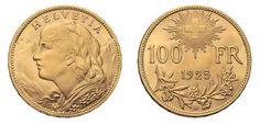 Peter Rapp AG - Internationale Briefmarkenauktionen - Spitzenergebnisse 2014 /     Schweiz. 100 Franken 1925. Verkaufspreis*: CHF 15'250.–