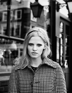 Vogue Holland September 2014 | Lara Stone by Angelo Pennetta