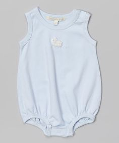 Another great find on #zulily! Blue Lamb Pima Bodysuit - Infant by Victoria Kids #zulilyfinds