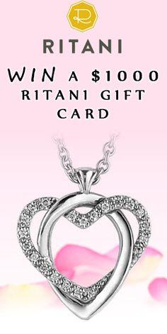 Win A $1000 Ritani Gift Card