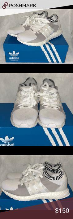 755be5b850c3da Adidas EQT ultra primeknit white Boost Mens Sz 9