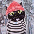 Felines Collection on Man Go, Crochet Hats, Collection, Art, Fashion, Knitting Hats, Art Background, Moda, Fashion Styles