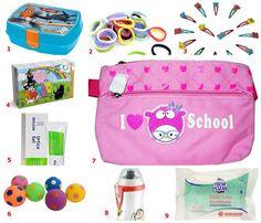 Kit di sopravvivenza per i primi giorni di scuola