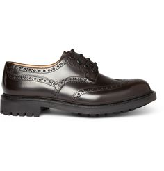 Church's  MCPHERSON RUBBER SOLE LEATHER BROGUES