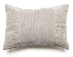The Tessa Pleated Pillow - Beige from Urban Barn is a unique home decor item. Urban Barn carries a variety of Pillows and other  products furnishings.