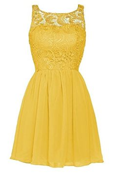 Handmade Cute Yellow Ball Gown Prom Dress With Applique, Cute Prom ...