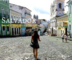 "Travel Tips l Brazil's ""Happiness Capital"": Salvador de Bahia l Brazil Travel, Mexico Travel, Honduras, Beautiful Places To Visit, Beautiful Beaches, Belize, Costa Rica, Panama, Brazil People"