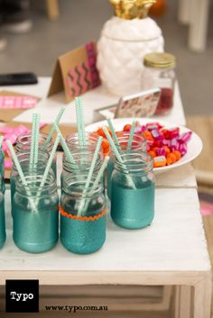 Use the Typo glass jar for your next event or craft project! www.typo.com.au