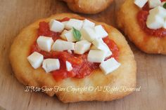 Pizzette montanara | Pizzette fritte ricetta blog il mio saper fare