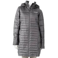 Columbia Womens Powder Pillow Long Jacket winter long puffer L -- For more information, visit image link.