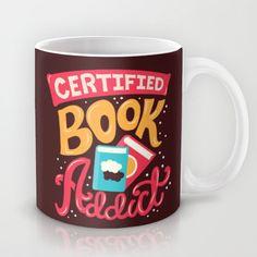 Certified Book Addict Mug