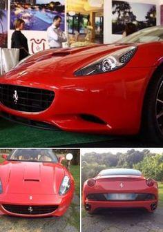Una Splendida Ferrari California per il Vostro Matrimonio???