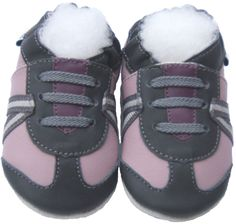 Soft Sole Baby Shoes Free Shipping Infant Toddler Kids Children Girl Gift Jinwood AthleticGreyLilac Shoes by Jinwoodshoes on Etsy https://www.etsy.com/listing/239164821/soft-sole-baby-shoes-free-shipping