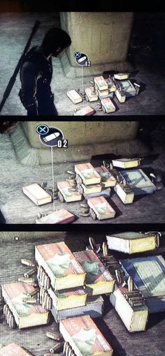 Video game logics The Evil Within Games Memes, Funny Gaming Memes, Gamer Humor, Stupid Funny Memes, Soccer Humor, Football Humor, Video Game Logic, Video Games Funny, Funny Games