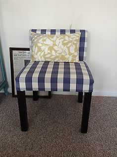 Occasional contemporary chairs re-upholstered