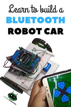 Learn how to create a custom Arduino Bluetooth Car and control it using your Android or iPhone Smarthphone. Build yours today! Arduino Bluetooth, Arduino Wifi, Arduino Sensors, Bluetooth Gadgets, Arduino Programming, Car Bluetooth, Linux, Google Glass, Smartwatch