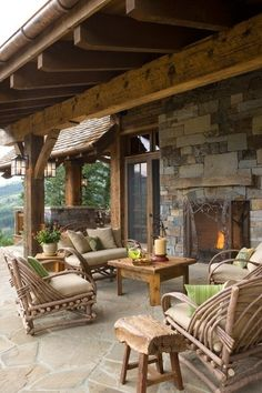 OUTDOOR ROOM – Absolutely beautiful outdoor living. The Enchanted Home: Which would you choose? And a winner!