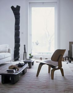 LCW (Lounge Chair Wood) by Charles & Ray Eames