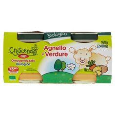 Biologico Agnello e Verdure Omogeneizzato Biologico 2 x 80 g