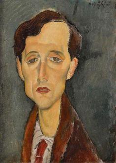 "Amedeo Modigliani's ""Frans Hellens"""