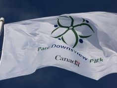 Government of Canada Parc Downsview Park Flag  #Downsview Park, #Toronto, ON, Canada