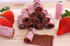 Strawberry Fruit Roll-Up