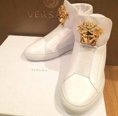VERSACE mens sneakers these are cool