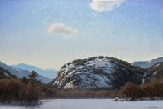 The Warm Winter Sun - 24x36 inches- Mount Washington Valley, NH $35,000
