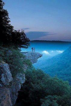 Whitaker Point, Arkansas aka Hawksbill Crag