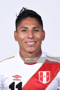 001cbdc896c Raul Ruidiaz of Peru poses for a portrait during the official FIFA World  Cup 2018 portrait